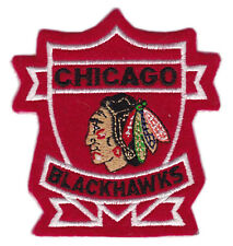 "1992 ERA CHICAGO BLACKHAWKS NHL HOCKEY VINTAGE 3.25"" SHIELD TEAM LOGO PATCH"