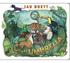 The Umbrella by Jan Brett (2011, Board Book)
