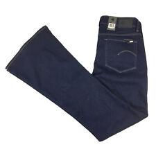 G-Star Womens High Flare Blue Super Stretch Jeans W31 L34 NEW RRP $190