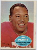 1960 Topps #114 Joe Perry VG-EX San Francisco 49ers FREE SHIPPING