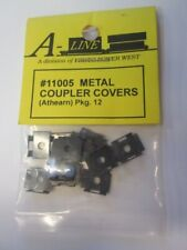 HO 12-pack Metal Coupler Covers (Athearn style) - A-Line #11005 vmf121