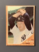 1962 Topps #139 Hal Reniff Pitching Variation SP( Back Mark) New York Yankees
