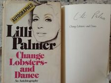 Lilli Palmer SIGNED Autobio Actress Harrison Coward Gable Landis Scandall HC/DJ