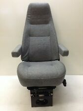NEW Bostrom T915 High Profile Air Ride Seat, Grey Cloth, 2 Arm Rests