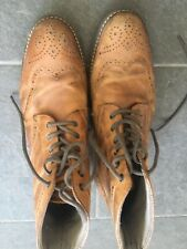 Red Tape Mens Brown Brogue Boots. Size 8/42