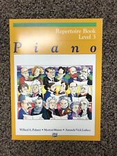 NEW ALFRED'S BASIC PIANO COURSE LEVEL 3 - REPERTOIRE BOOK