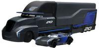 Pixar Cars 3 Jackson Storm Transforming Hauler Play  2 cars Alloy toy Disney