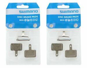 2 Paar Shimano B03S (B01S) Resin Bremsbeläge BR-M 445 446 575 525 Disc Beläge