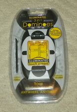 Illuminated 3 in 1 Dominoes by Techno Source - NEW