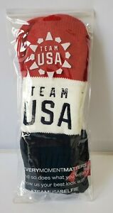 New Navy Winter Olympic Team USA Mittens One Size For All Red, White & Blue