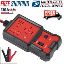 12V Electronic Automotive Relay Tester For Cars Auto Go Battery Checker US Stock