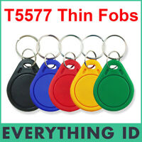 2 x T5577 125KHz LOW FREQUENCY RFID ID CARD READ WRITE T5567 T5557 T55x7