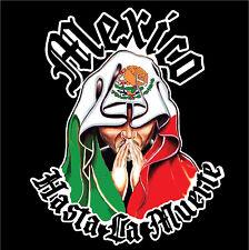 MEXICO CAR DECAL STICKER  HASTA LA MUERTE  #217Mex
