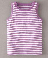 Mini Boden girls cotton jersey print summer vest tank top picot trim age 1-12