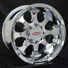 16 inch Chrome Wheels/Rims Chevy GMC Dodge Ram 2500 3500 8 Lug Truck Moto Metal
