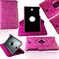 360 Rotating Leather Stand Cover Case For Samsung Galaxy S S3 T530 T825 Note