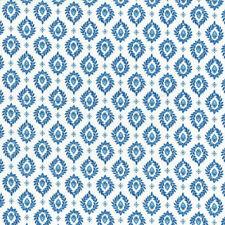 Textiles français VALENSOLE - French Blue and White Provençal fabric 100% Cotton