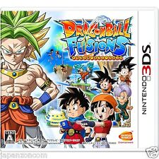 Dragon Ball Fusions NINTENDO 3DS JAPANESE  JAPANZON COM