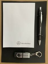 Genuine Mercedes Benz Pen Notepad & USB Stick