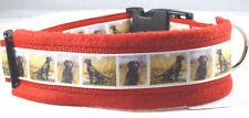 "Hundehalsband ""Brauner Labrador"" Größe L 50-55 cm Halsumfang"
