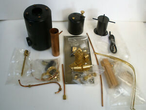 CLEVEDON STEAM Libra Vertical Plant Kit inc Boiler ,Engine gas & condenser tank