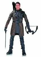 DC ARROW MALCOLM MERLYN ACTION FIGURE. NEW IN PACKAGE. 7 INCHES. CW SERIES