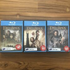 The Lord of the Rings Trilogy Blu-ray Lot Collection Blockbuster Version
