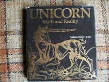 Unicorn Myth and Reality by Rudiger Robert Beer