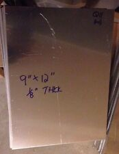 "9"" x 12"" Aluminum Sheet Metal .125"" Thick (1/8"" / 8 Gauge)"