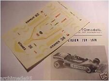 LIGIER JS9 F1 1978 1/43 DECALS