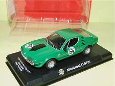 ALFA ROMEO MONTREAL 1000 Km NURBURGRING 1973 HACHETTE sous blister