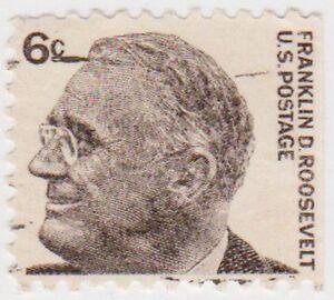 (USB236)1965 USA6c Franklin D Roosevelt book typeSG1282