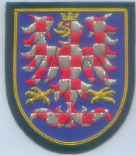 Medieval Moravia Eagle Czech Republic Region Kingdom Region State Shield Patch C