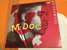 "M-DOC - WHATEVER U NEED - Orig.12"" Single 1992 US Import HIP HOP - NMINT"