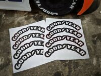 1/10 RC TAMIYA TT01 MAN TGS / Buggyra Fat Fox Tyre Sidewall Stickers / Decals