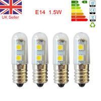 1/2/4 E14 1.5W LED Bulb Light Replacement Warm White Cooker Hood Chimmey Fridge