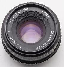 Porst Color Reflex NC-Auto F 1:2 2 50mm 50 mm - Pentax PK