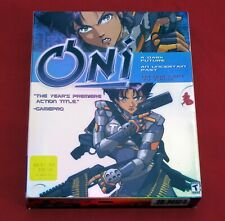 ONI Rare 2001 Bungie Windows BIG BOX PC CD-ROM Anime Action Computer Video Game