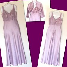 Adrianna Papell 'Occasions' - 2 Piece Pastel Purple Sequined Gown With Lining- 4