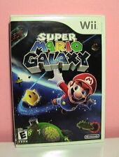 Super Mario Galaxy(Nintendo Wii, 2007) Manual Case Art Official Nintendo Seal