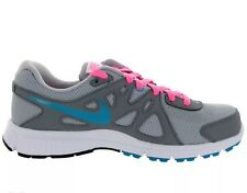NIKE WOMEN'S REVOLUTION 2 SIZE 8.5 WIDE Grey Turquoise 554902 006 Running SHOES