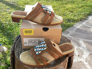 NUOVO Timberland 62695 Lora Bead n.41 scarpe sandali donna