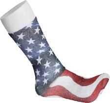 USA Flag America Fun Novelty Socks Dress Casual Knee SOX Stars Stripes American