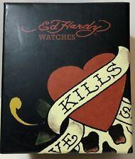 Ed Hardy Love Kills Slowly Watch NEW CONDITION!