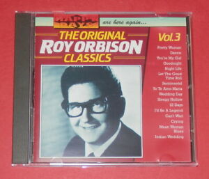Roy Orbison - The Original Classics - Vol. 3 -- CD / Oldie