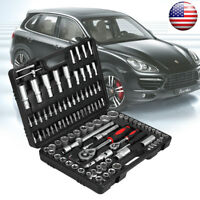 108pcs Car Repair Tool Socket Set Ratchet Wrench Spanner Combination Hand Tools