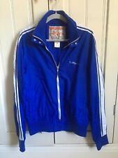 True Religion Mens Blue Nylon Windbreaker Jacket Size L