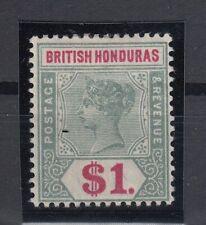 C2745/ BRITISH HONDURAS – VICTORIA – SG # 63 MINT MH – CV 125 $