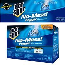 3 Bedbug Killer Spray Flea Fogger Fleas Lice Ticks Insect Carpets Home Beds Bath