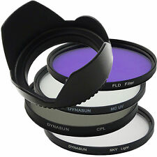 Filtro MCUV MC UV +Skylight +Polarizador CPL + Parasol+ FLD 77 77mm
